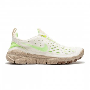 Nike Men Free Run Trail Premium (coconut milk / lime glow-metallic gold)