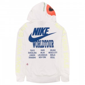 Nike Men Sportswear Pullover French Terry Hoody (white)