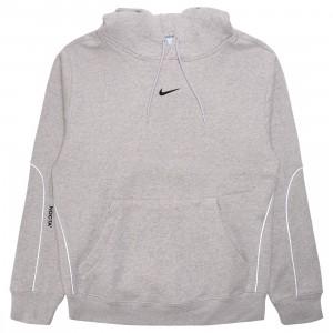 Nike Men Nocta Fleece Hoody (grey heather / black)