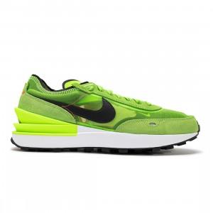 Nike Men Waffle One (electric green / black-mean green)