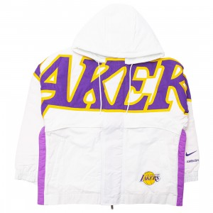 Nike Women W Nrg Ir Jkt Los Angeles Lakers Jackets (summit white)