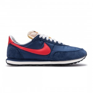 Nike Men Waffle Trainer 2 Sp (midnight navy / max orange-mystic navy)
