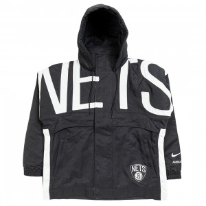 Nike Women W Nrg Ir Jkt Brooklyn Nets Jackets (black)