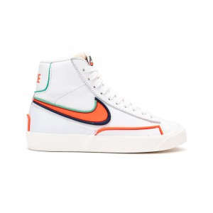 Nike Women Blazer Mid '77 Infinite (white / bright crimson-blue void)