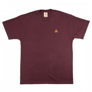 Nike Men Acg Tee (deep burgundy / team orange)