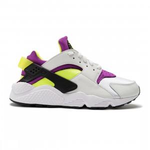 Nike Men Air Huarache (white / neon yellow-magenta-black)