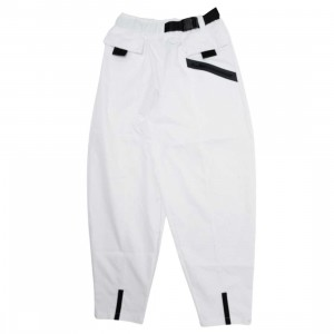 Nike Women Sportswear Tech Pack Woven Pants (white / black)