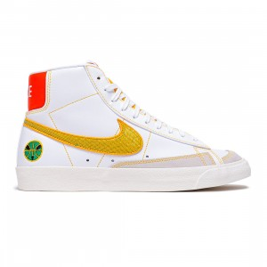Nike Men Blazer Mid '77 Vintage (white / university gold-stadium green)