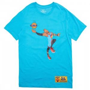 Nike Men Lebron X Space Jam: A New Legacy Tee (lt blue fury)
