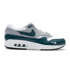 Nike Men Air Max 1 Lv8 (white / dark teal green-wolf grey-black)