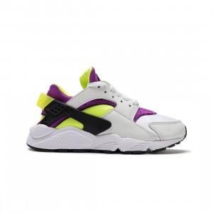 Nike Women Air Huarache (white / neon yellow-magenta-black)