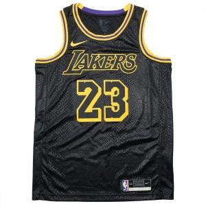 Nike Men Nba Swingman Jersey - Lebron James Lakers (black / james lebron)
