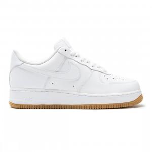 Nike Men Air Force 1 '07 (white / white-gum light brown)