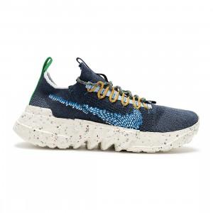 Nike Men Space Hippie 01 (obsidian / signal blue-psychic blue-white)