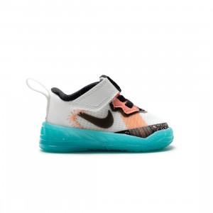 Nike Toddlers Lebron 18 Low (summit white / black-dynamic turq)