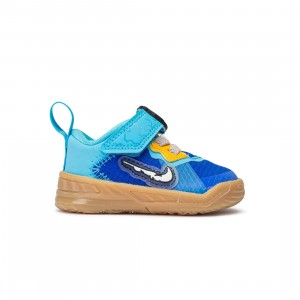 Nike Toddlers Lebron 18 Low (racer blue / white-baltic blue)