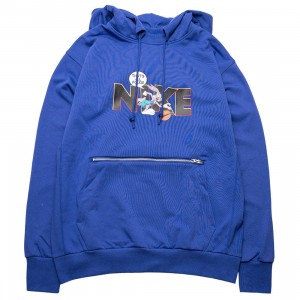 Nike Men Dri-Fit Standard Issue X Space Jam: A New Legacy Hoody (light concord)