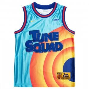 Nike Big Kids Dri-Fit X Space Jam: A New Legacy Tee (lt blue fury / concord / university gold)