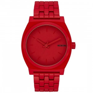 Nixon Time Teller Watch - RED (red / all red)