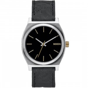 Nixon Time Teller Watch (black / brass)