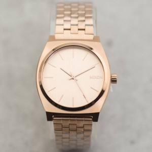 Nixon Time Teller Watch (gold / all rose gold)
