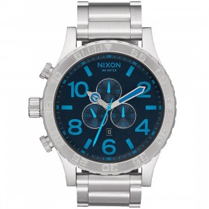 Nixon 51-30 Chrono Watch (blue / dark blue)