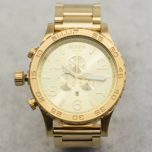 Nixon 51-30 Chrono Watch (gold / all gold)