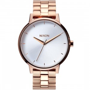 Nixon Kensington Watch (rose gold / white)