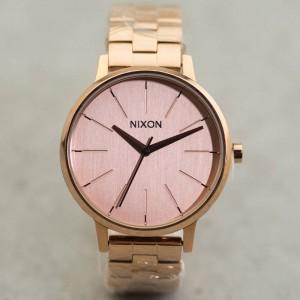 Nixon Kensington Watch (pink / all rose gold)