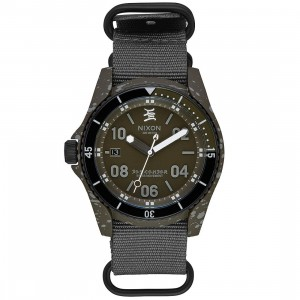 Nixon x Stecyk Descender Watch - Limited (black / graphite)