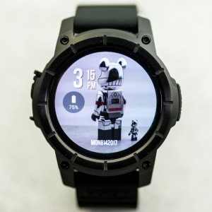 Nixon The Mission Smart Watch (black / all black)