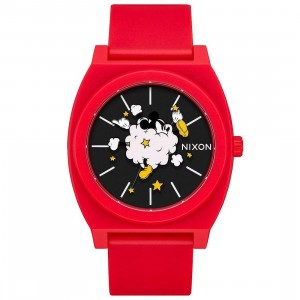 Nixon x Disney Time Teller P Watch - Dust Up (red)