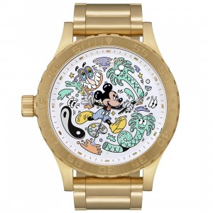 Nixon x Disney x Steven Harrington 51-30 Watch - Mickey LTD of 100 (gold)