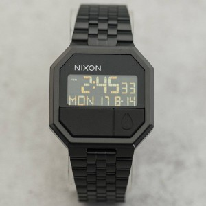 Nixon Re-Run Watch (black / all black)