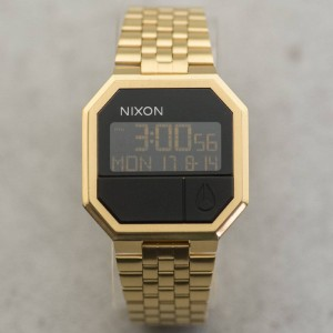 Nixon Re-Run Watch (gold)