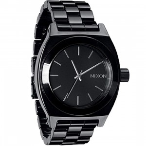 Nixon Ceramic Time Teller Watch (black)