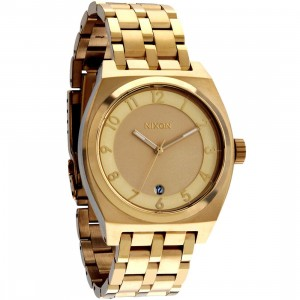 Nixon Monopoly Watch (gold)