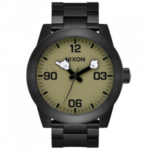 Nixon x Disney Corporal SS Watch - Hand Over Fist (black / black)