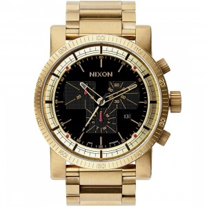 Nixon Magnacon SS II Watch (gold / black)