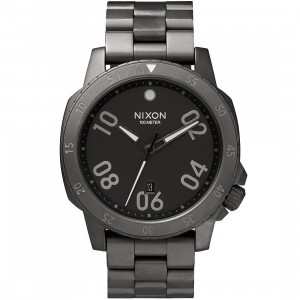 Nixon Ranger Watch (gray / all gunmetal)