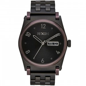 Nixon Jane Watch (black / plum)