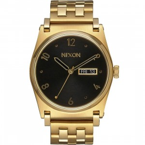 Nixon Jane Watch (gold / all gold black)