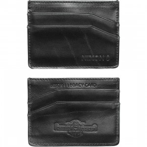 Nixon Legacy Card Wallet (black)