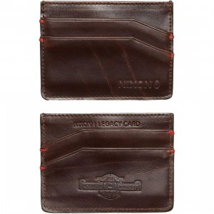 Nixon Legacy Card Wallet (brown)