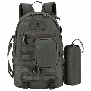 Nixon x Stecyk Logic Ops Camera Bag (gray / green graphite)