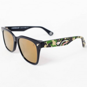 A Bathing Ape PARKAS04 BC Sunglasses (black / camo)