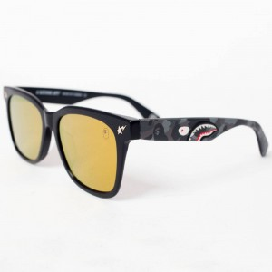 A Bathing Ape PARKAS04 BK Sunglasses (black)