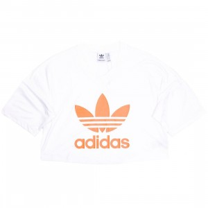 Adidas Women Trefoil T-Shirt (white)