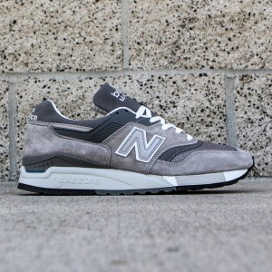 New Balance Men M997.5 - Made In USA (gray / white)