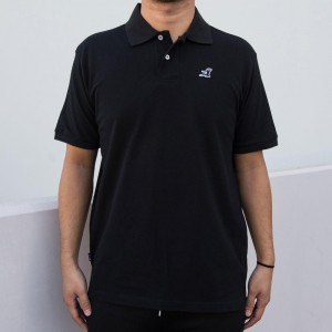 BAIT x Bruce Lee Polo Shirt (black)